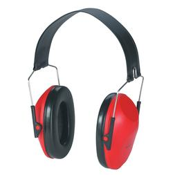 AOSafety Folding Earmuff Headset Hearing Protector Red Stow-