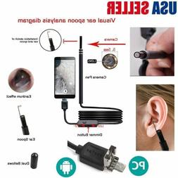 Health Care Tool Ear Pick Wax Remover Cleaner scope Endoscop