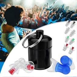 High Fidelity 27dB Anti-noise Ear plugs Concert Music Travel