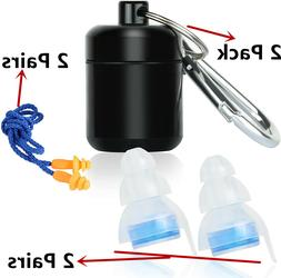 High Fidelity Noise Cancelling Reduce Ear plugs Hearing Prot