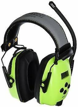 Howard Leight 1030390 Hi-Vis Green Radio & MP3 Ear Muff, Ref