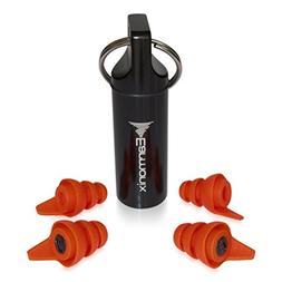 Earmonix Industrial and Home Improvement Earplugs - Noise Re