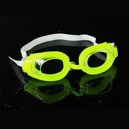 Kids Swim Goggles With Ear Plugs Nose Clip Swimming Accessor