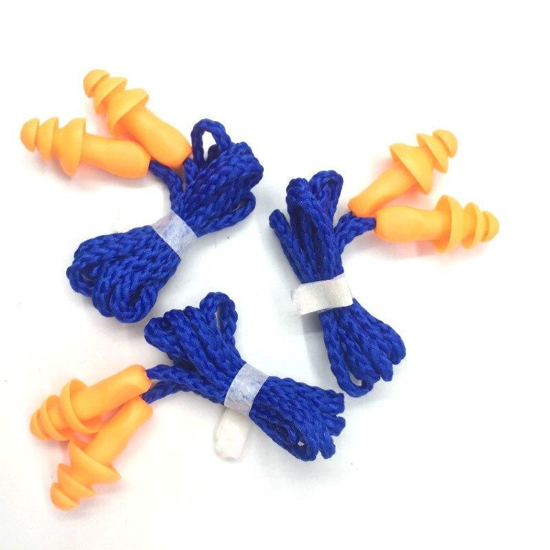10pcs soft silicone corded font b ear
