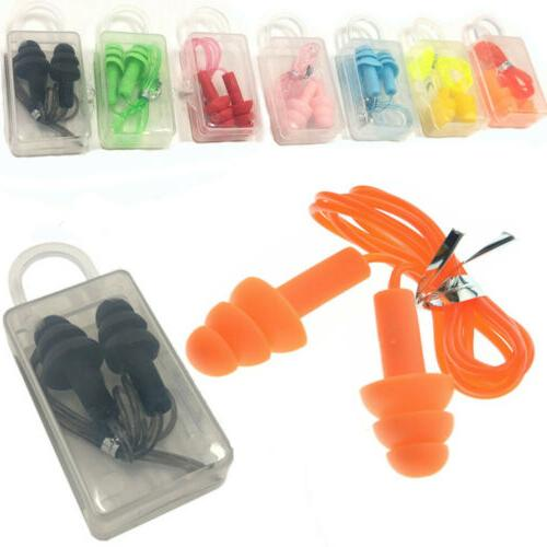 10 pairs soft silicone ear plugs 33