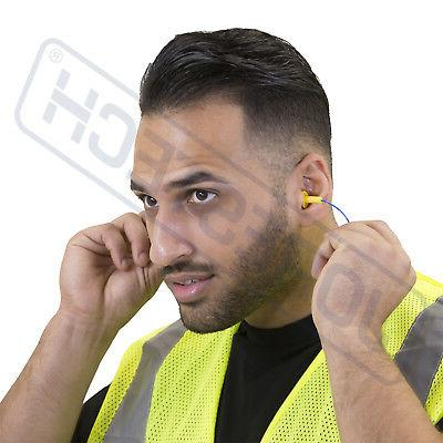 10 Ear Plug Hearing Protection Earplug