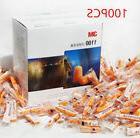 100 Pairs 3M 1100 Disposable Soft Foam Ear Plug Foam Sleep N