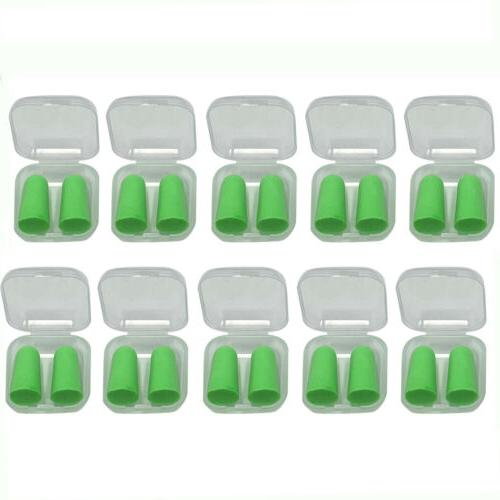 10pack ear plugs soft noise reduction 33db