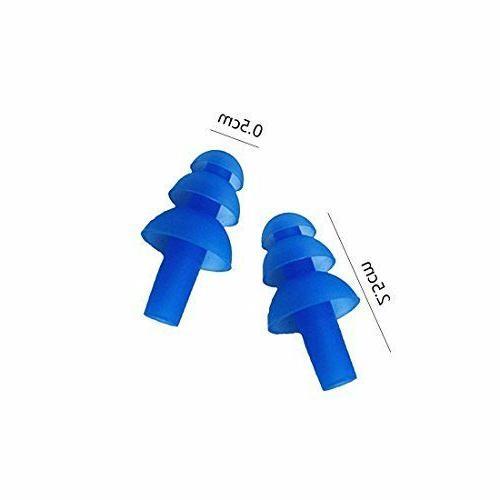 10Pcs RANDOM COLOR Soft Plugs