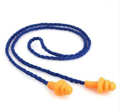 10Pcs <font><b>Ear</b></font> <font><b>Plugs</b></font> <font><b>Reusable</b></font> Hearing Reduction Earplugs
