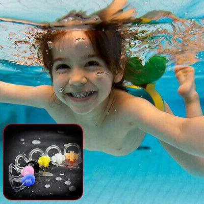 10x Unisex Silicone Clip Plugs Kids Sea
