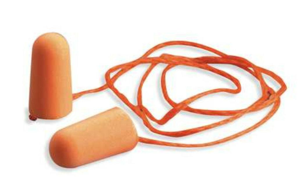 1110 corded ear plugs 29db rated disposable