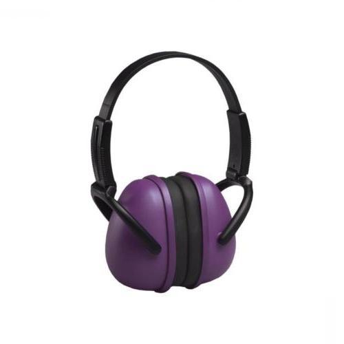 14243 239 foldable ear muffs purple