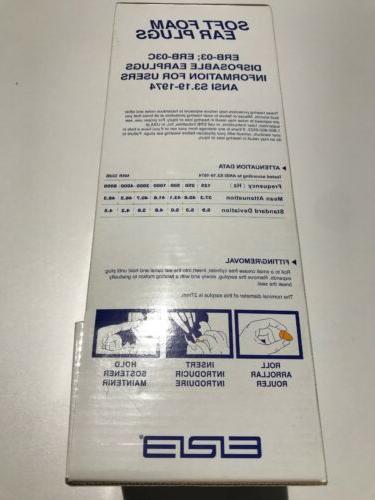 ERB 14382 Plugs ERB03C NRR 32dB