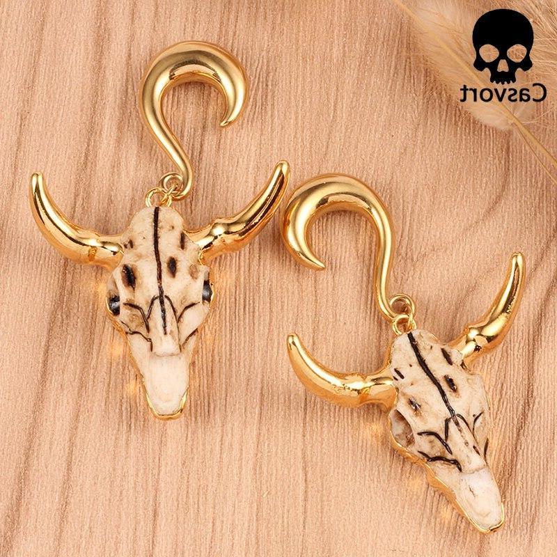 Casvort <font><b>weight</b></font> jewelry tauren bone dangle piercing selling