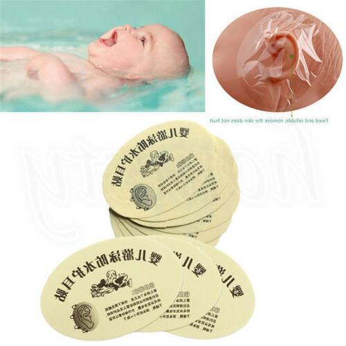 20~120pcs Kids Baby Infant Bath Swimming Waterproof Ear Past