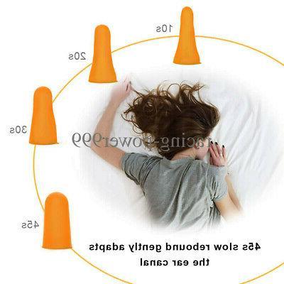 200 Ear Bulk, soft Orange foam sleep noise shooting, earplugs