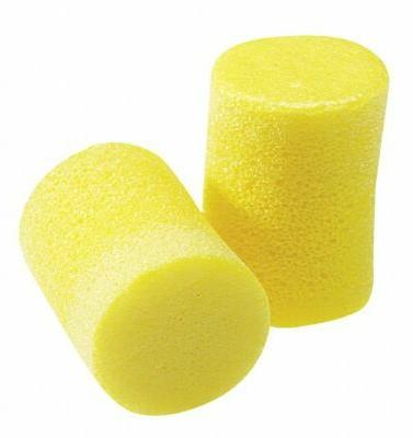 29db disposable cylinder shape earplugs uncorded yellow