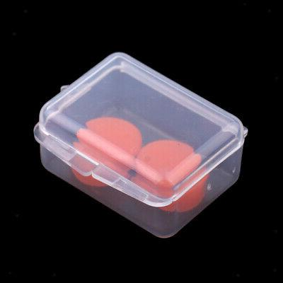 2pcs Earplugs Swimming Ear Plugs Red