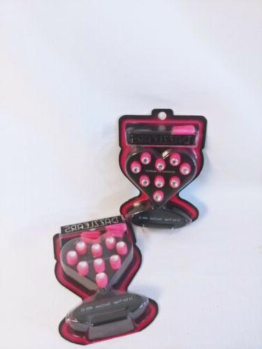 DAZZLEARS By Hearos - Stylish Pink Bejeweled Ear Plugs, 28