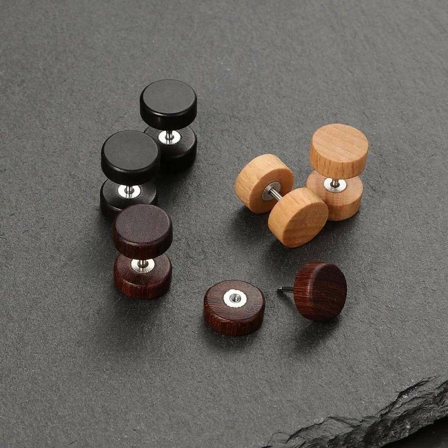 3 Pairs Gauges Ear Plugs Plugs