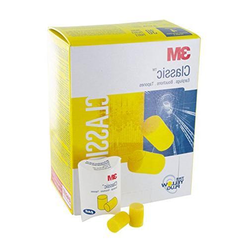 3M Classic Plugs Pillow Foam Yellow