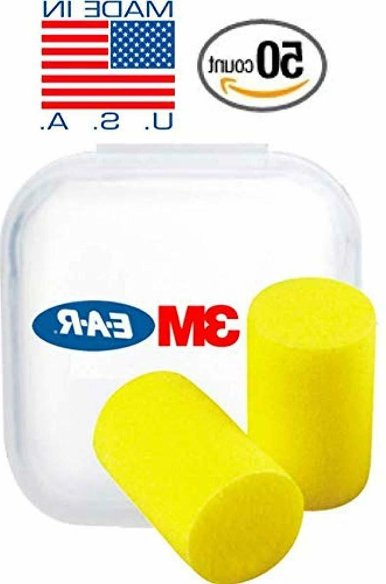 3M Foam Earplugs for Reduction Count a