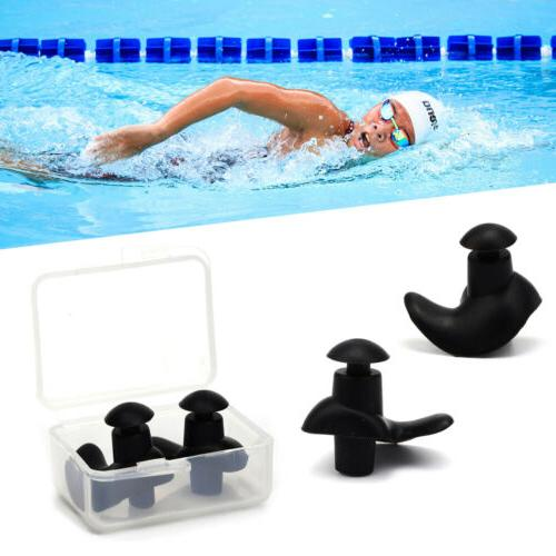 5/10 Pairs Soft Silicone Ear Plugs for Swimming Sleeping Ant