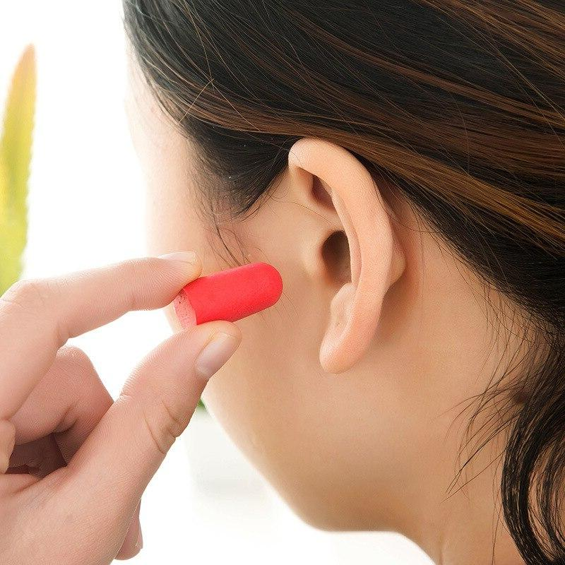 5Pairs comfort earplugs noise reduction Soft <font><b>Plugs</b></font> Earplugs for sleep earplugs