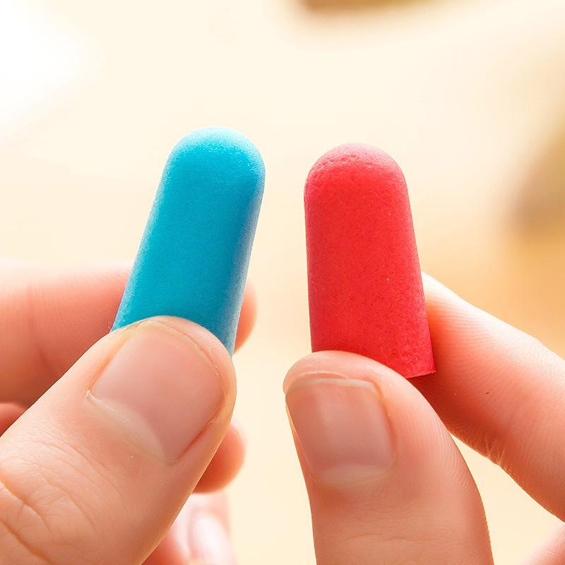 5Pairs comfort earplugs reduction <font><b>Foam</b></font> <font><b>Plugs</b></font> box-packed Earplugs for sleep earplugs