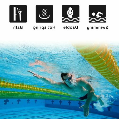 6 Pack Swimming Waterproof Soft Ear Plugs Protector For