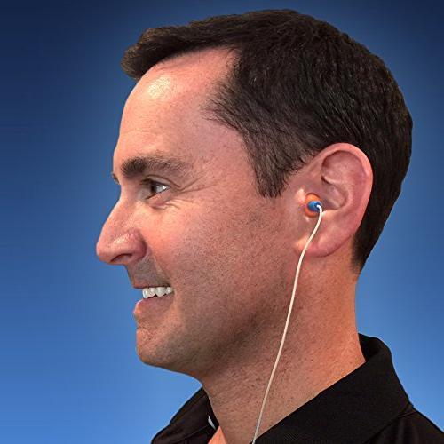 HEAROS Ear Pods with EZ Twist Orange