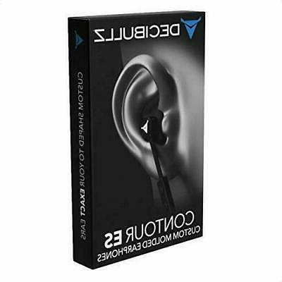 Decibullz - Custom Molded Contour ES In-Ear Headphones, Easi