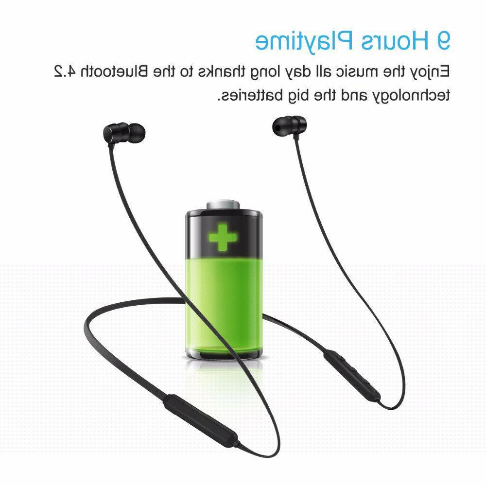 Wireless Earphones Noise Cancelling Plugs Music Headphones
