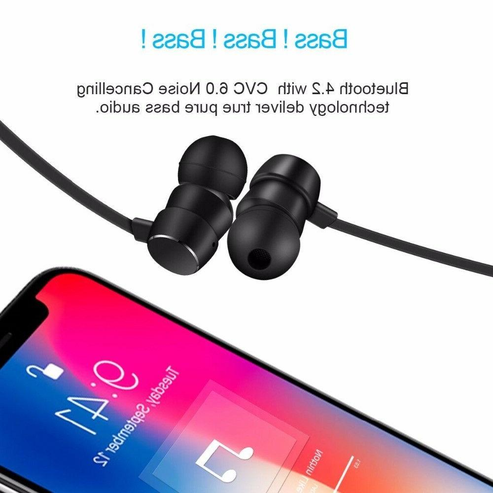 Wireless Bluetooth Cancelling Sports Music Headphones
