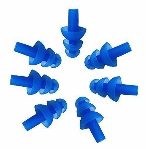 10 Pairs Silicone Earplus Ear Plugs