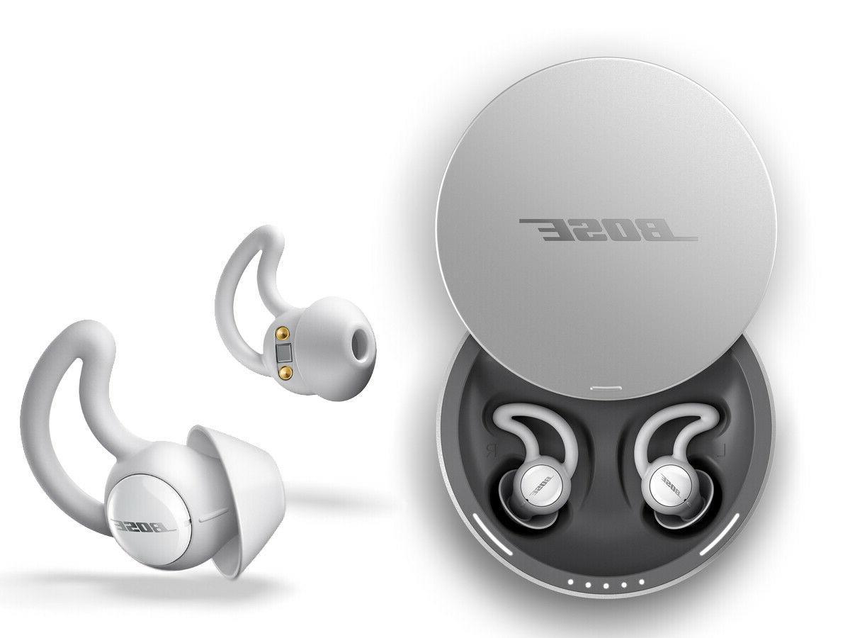 brand new wireless noise masking sleepbuds silver