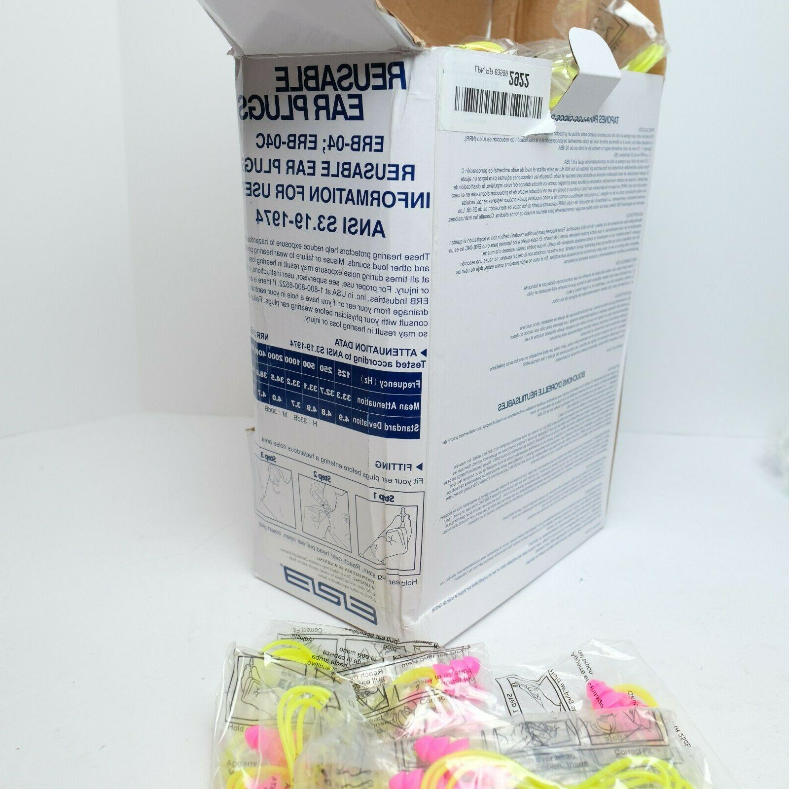 Corded Rated, Reusable Tapered Shape, PK SAFETY 14397