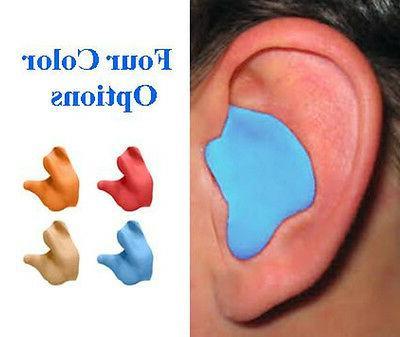 custom molded earplugs 4 color choices nrr