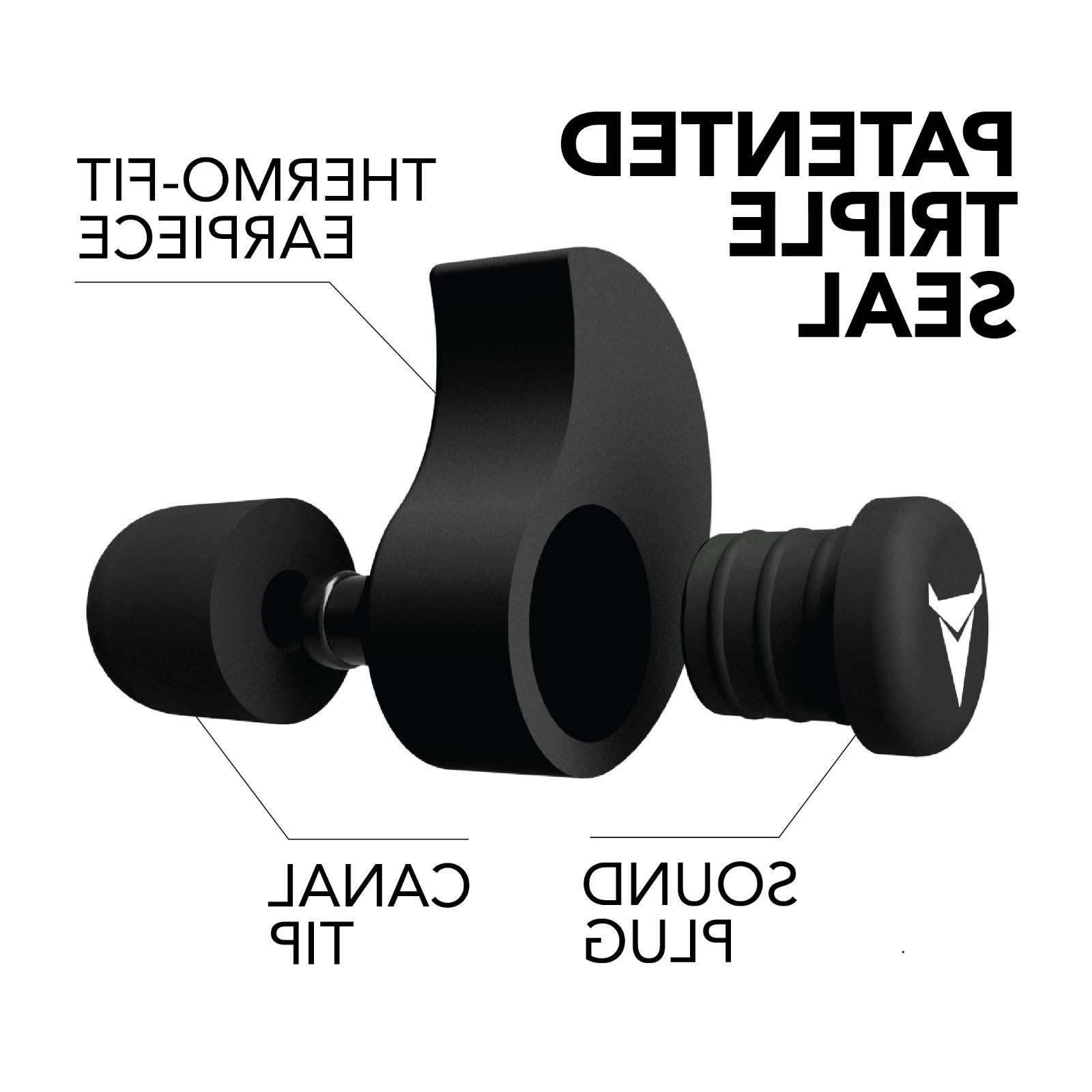 Decibullz Custom Moulded Hearing Protection