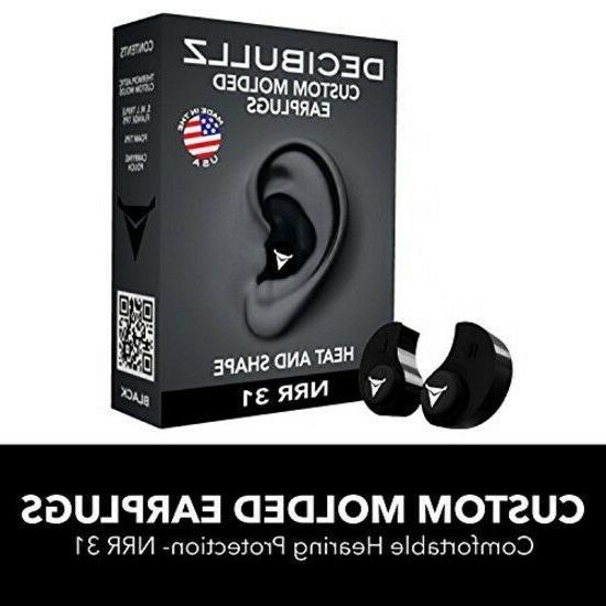 custom molded earplugs comfortable hearing protection sound
