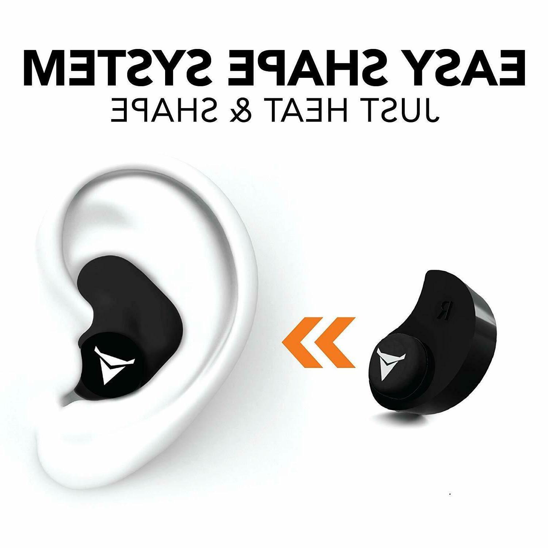 Decibullz Custom NRR 31 , molded , ear .