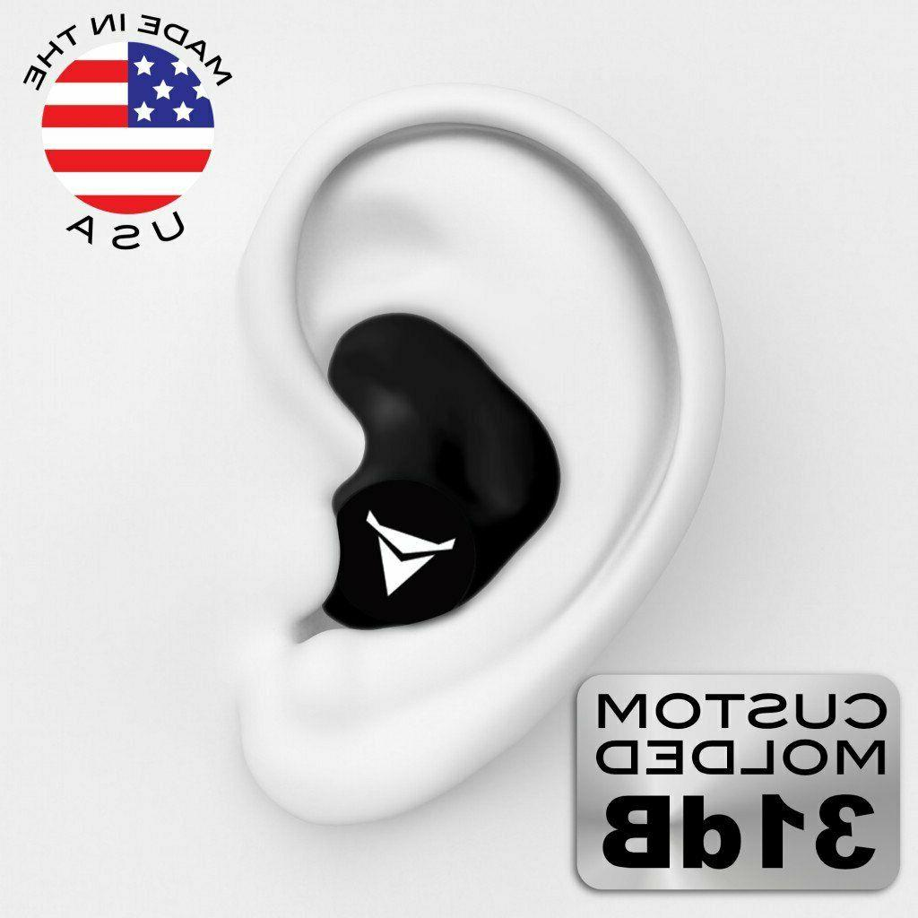custom molded earplugs nrr 31 ear molded
