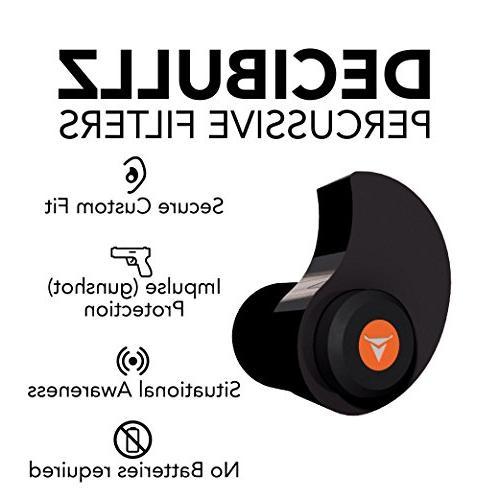 Decibullz Percussive Custom Hearing Protection