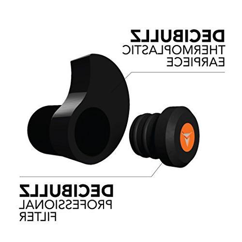 Decibullz Percussive Custom Hearing