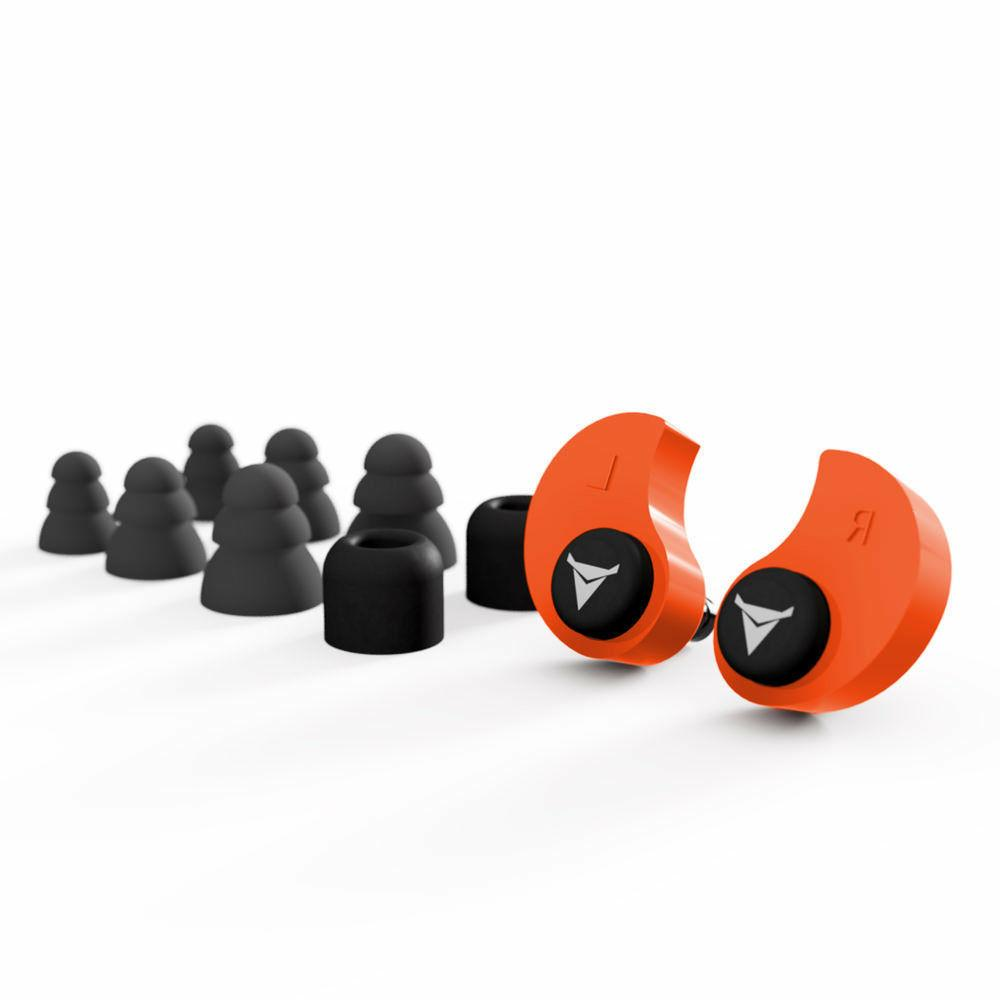 DECIBULLZ Custom Ear Plugs Protection Defenders Shooting
