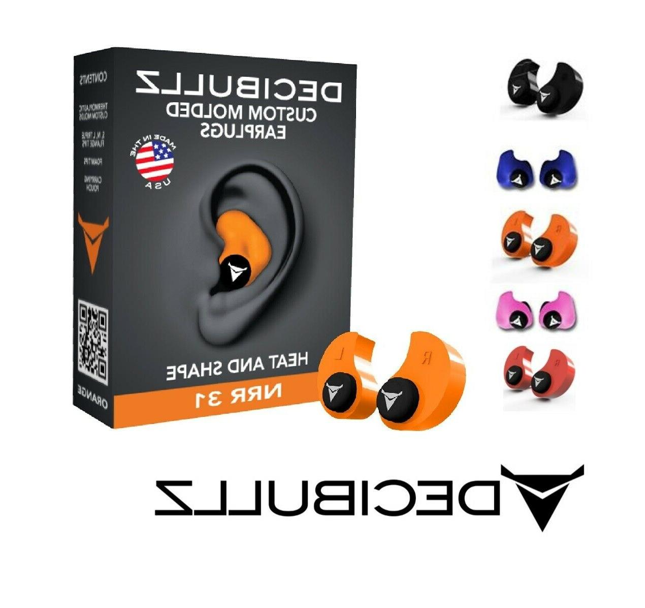 custom moulded ear plugs hearing protection defenders