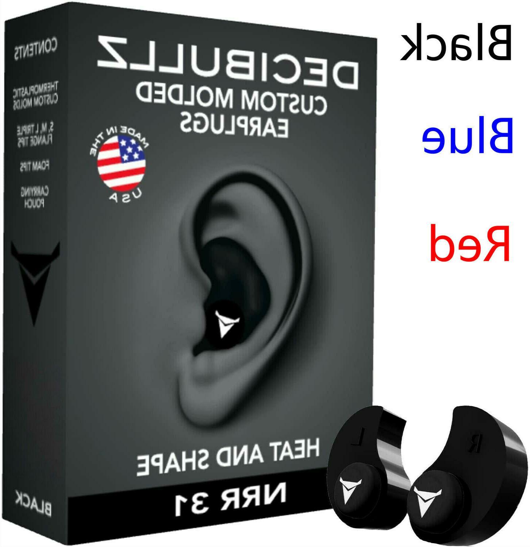 custom moulded earplugs hearing protection defenders shootin