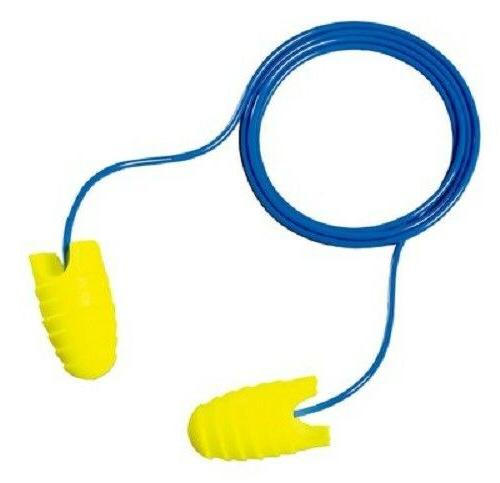 3M E-A-RSOFT GRIPPERS EAR PLUGS CORDED 25 PAIR INDIVIDUALLY