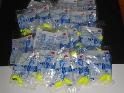 3M E-A-RSOFT PLUGS CORDED 20 PAIR INDIVIDUALLY PACKED